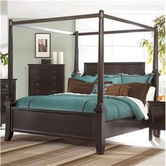 The Martini Suite Poster Bedroom Set From Ashley Furniture Homestore The Martini