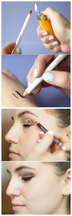 Makeup Tricks : 17 Life-Changing Makeup Hacks EVERY Woman Should Know ........ Fantastic tips! They work wonderfully ....... Kur