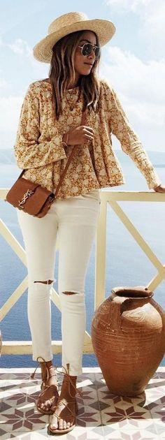 #sincerelyjules #spring #summer #besties |Earth Tones + White