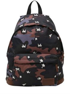 EASTPAK 22L PAUL & JOE WYOMING BACKPACK, CAMOUFLAGE. #eastpak #bags #leather #backpacks #lace #