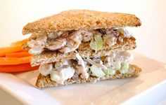 Waldorf Chicken Sandwich #recipe