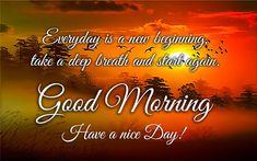 Have a wonderful day with this good morning ecard.