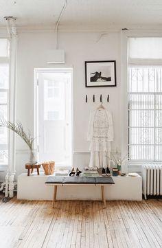 inspiring neutral living space. / sfgirlbybay