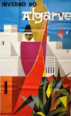 Algarve, Portugal #travel #poster 1965