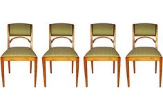 19th-C. Swedish Dining Chairs, S/4 on OneKingsLane.com