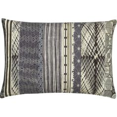 """Amande 24""""x16"""" Pillow in Decorative Pillows   Crate and Barrel"""