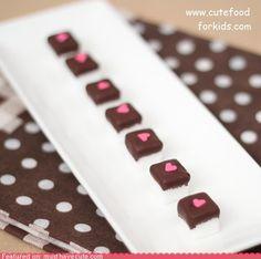 Sugar cubes w/ Chocolate