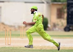 Aggressive Fielding in the Match of Federal Area's Player.