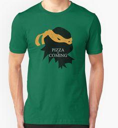 Pizza is Coming - Teenage Mutant Ninja Turtles - Anime - Manga - Comic books - Movies - Michelangelo - TMNT