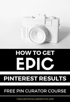 Learn how to create a powerful Pinterest account to showcase your blog and website content on Pinterest. Work through this step by step 5 day email course that teaches you how to create some quick wins!