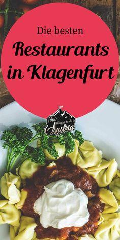 Unsere Lieblings-Restaurants in Klagenfurt zum Mittag- oder Abendessen. Klagenfurt, Slow Food, Austria Winter, Sushi, Roads, Restaurants, Europe, Marketing, Mayrhofen