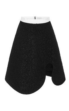 Cotton Blend Audrey Revealing Curve Skirt by KARLA ŠPETIC Now Available on Moda Operandi