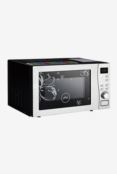 30dafb15437 Buy Godrej GMX 519 CP1 19L Convection Microwave Oven(White Rose) Online At Best  Price   Tata CLiQ