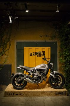 New Year, New Color: Welcome Scrambler Icon Silver Ice!Available...