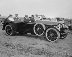 Cunningham Touring Car 1920 8x10 Reprint Of Old Photo