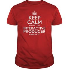 Awesome Tee For Interactive Producer T-Shirts, Hoodies. SHOPPING NOW ==► https://www.sunfrog.com/LifeStyle/Awesome-Tee-For-Interactive-Producer-111177775-Red-Guys.html?id=41382