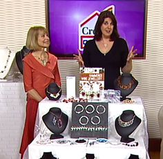 The Whammer Hammer show on Create & Craft TV launched my 9th project book: 'Hammered Wire Jewellery' 16/2/2016