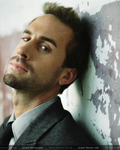 Joseph Fiennes  Fell in love with him in Shakespeare in Love.... I LOVE IT!