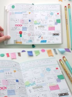 Washi stickers - using Washi to spice up your calendars and memo books.  Nice since you can write over top of it.  Any Washi will work.