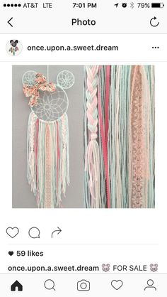 Minnie Dream Catcher.  This is so sweet!