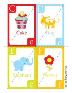 Printable ABC puzzles from Over the Moon. #ABC