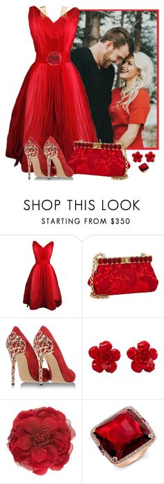 """Fall wedding guest"" by fashionrushs ❤ liked on Polyvore featuring Dolce&Gabbana, Casadei, Chanel, Gucci, Anne Sisteron, Rosantica and fallwedding"