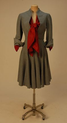 Suit    Christian Dior, 1950    Whitaker Auctions   #1950s #dior