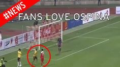 Colombia fans LOVE Arsenal keeper David Ospina