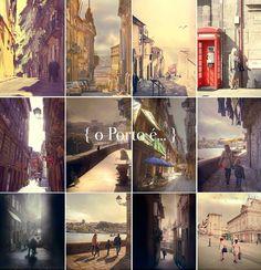 o Porto é... as cores das suas ruas