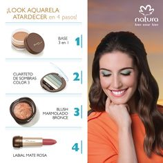 Look Natura Aquarela - https://www.facebook.com/TienditadeBellezaLaguna/
