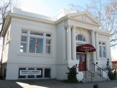 1915 Andrew Carnegie Public Library, Vacaville Chamber of Commerce, Vacaville, California