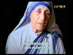 Madre Teresa - Tengo sed - YouTube