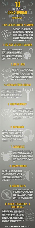 10 Tips para la Creatividad www.quelapaseslindo.com.ar