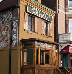 Senart's Oyster & Chop House and other oyster bars with great happy hour specials