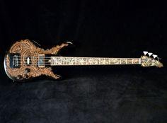 Blueberry Guitars / Handmade Electric Bass