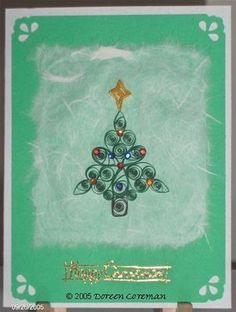 Custom Quilling Supplies: Christmas and Holiday Quilling Patterns
