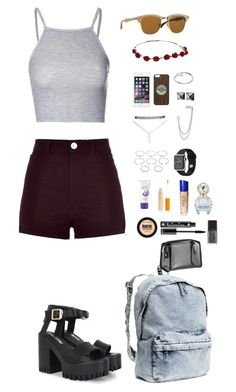 What I normally wear~ by misslizziefashions on Polyvore featuring Ray-Ban Wooden Clubmaster Sunglasses, available at #SelectSpecs