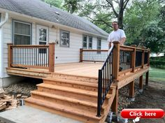 Best Small deck designs ideas that you can make at home! small deck ideas on a budget, small deck ideas decorating, small deck ideas porch design, small deck ideas with stairs Small Deck Designs, Backyard Patio Designs, Small Decks, Small Backyard Decks, Small Small, Small Patio, Backyard Ideas, Small Spaces, Small Deck Ideas On A Budget