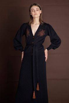 Campaign AW 18/19 – Ancient Kallos :: Hellas Resort Wear Resort Wear, 18th, Campaign, Dresses With Sleeves, Long Sleeve, How To Wear, Fashion, Dress, Gowns With Sleeves