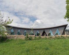 Entrance Pavilion at La Garrenne Zoo