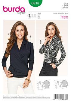 Simplicity Creative Group - Burda Style Tops, Shirts,Blouses