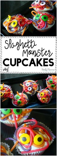 I love this easy recipe for the Spaghetti Monster Cupcakes! SO SIMPLE. And it's…