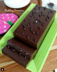Fifteen minutes of making: homemade cocoa pudding - Page 29 of 30 - happinessdesserts . Puding Oreo, Puding Cake, Resep Cake, Brownie Pudding, Pudding Desserts, Pudding Recipes, Indonesian Desserts, Asian Desserts, Indonesian Food