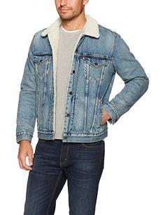 Levi s Men s Type III Sherpa Jacket at Amazon Men s Clothing store    jeanjacket  afflink eaee57fd9120