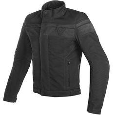 Dainese Blackjack D-Dry Jacket - Black / Anthracite - FREE UK DELIVERY