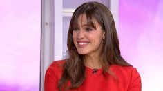 Grab a hanky! See what got Jennifer Garner teary on TODAY
