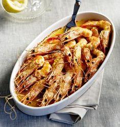 Ένα ορεκτικό που για το ουζάκι είναι ό,τι πρέπει. Greek Recipes, Fish Recipes, Salad Recipes, Recipies, Seafood Dishes, Fish And Seafood, Food Wishes, Cooking Recipes, Healthy Recipes