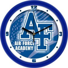 NCAA Air Force Falcons Dimension Wall Clock