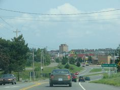 Antigonish Nova Scotia. I've seen this entrance many times. Not with the Tim's or McDonalds though...