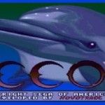 Retro Video Game Echo The Dolphin #retrogaming